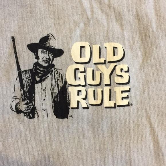 Old guys Rule Size Medium THE Duke John Wayne e0f890b847c1